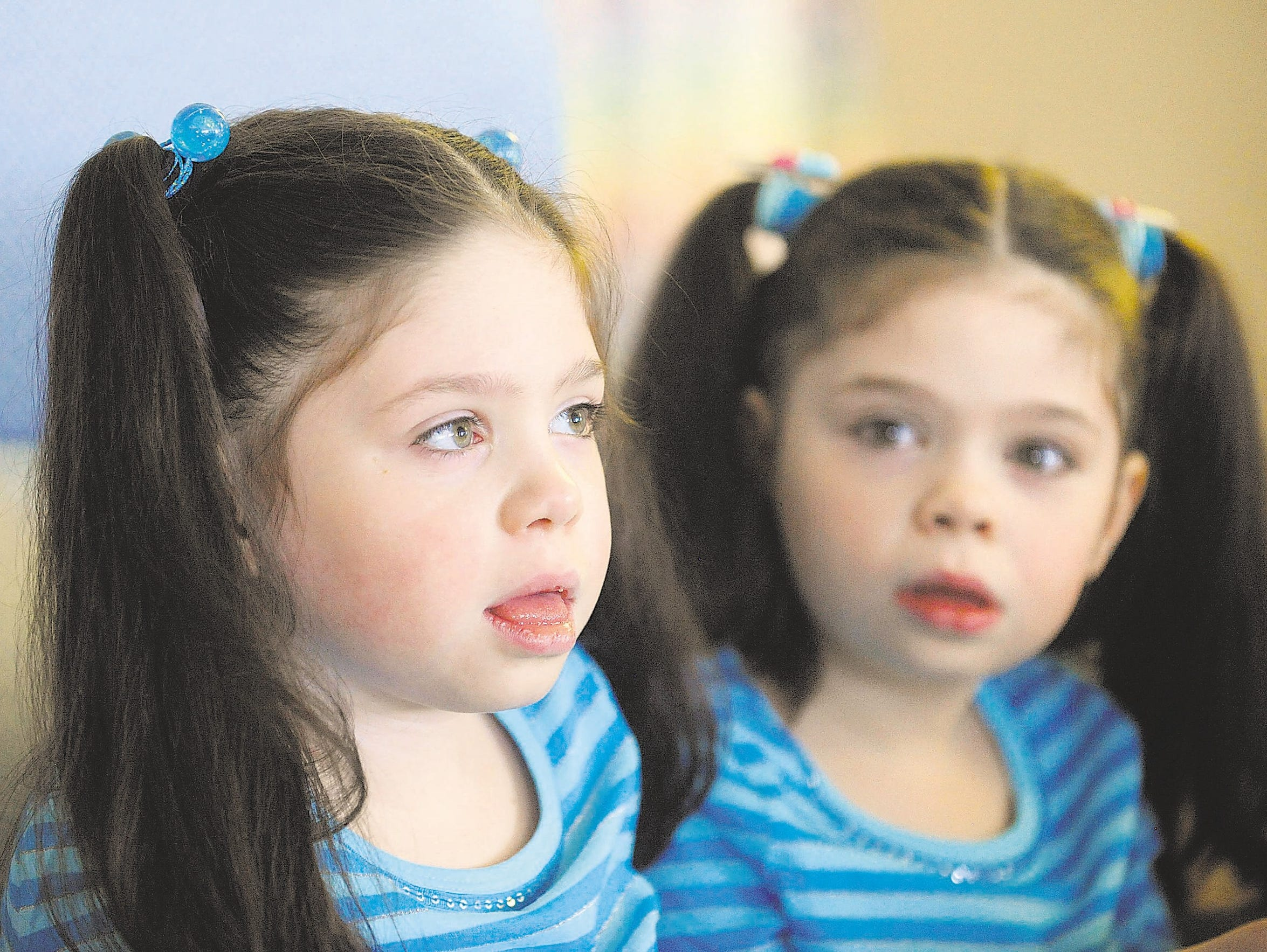 Twins Addi and Cassi Hempel, then 7, were diagnosed Neimann-Pick Type C disease.