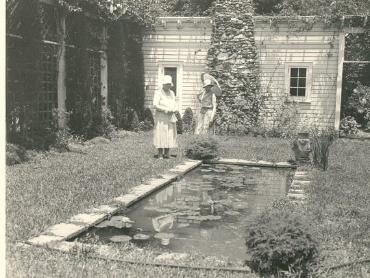 The Moonlight Garden was a source of pride for Mina Edison.