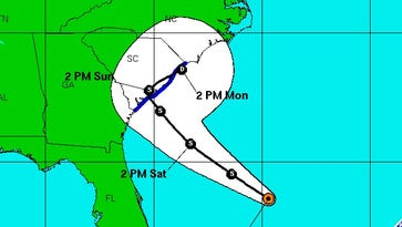 Tropical Depression Two formed late Friday in the Atlantic. It's expected to impact the South Carolina coast over the weekend.