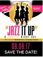 Jazz It Up is Friday at Escapology in Montgomery.