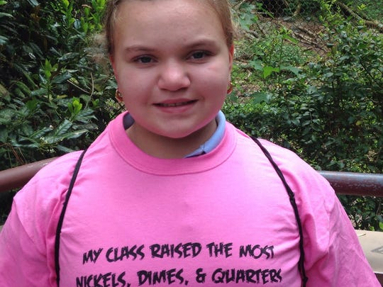 Madison Lessig, a Deal Island fifth-grader.