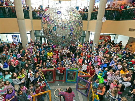 The Betty Brinn Children's Museum's annual New Year's Eve at Noon includes food, crafts a ball drop (at noon) and more.