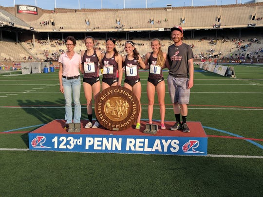 Former Penn Relays' winner Lauren Searby Haines, a