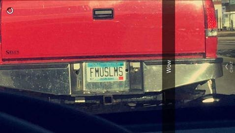 This license plate was issued in June 2015.