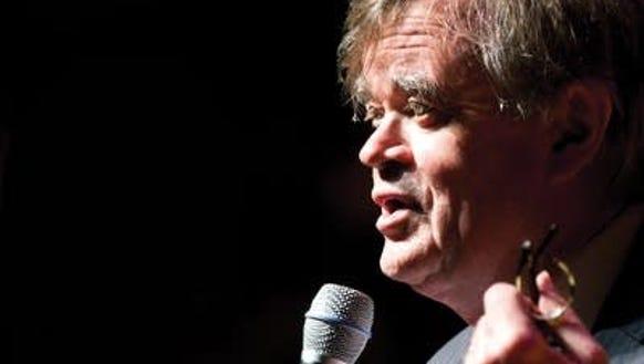 Storyteller and radio personality Garrison Keillor