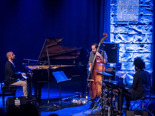 The Shai Maestro Trio played a late-night set last