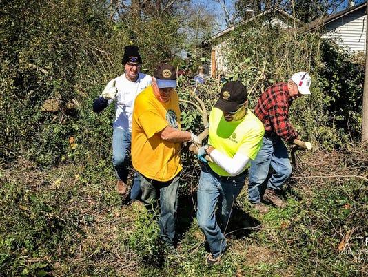 Rotary Hattiesburg tornado cleanup