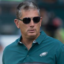 The Eagles defense under coordinator Jim Schwartz has allowed the fewest points in the NFL this season and ranks among the best in yards allowed per game.