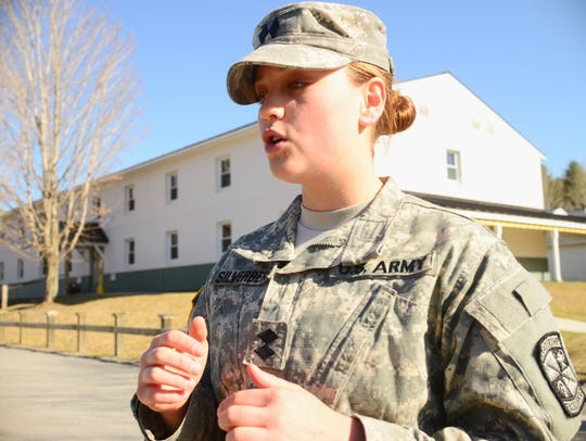 UVM ROTC senior cadet Julie Silverberg describes why
