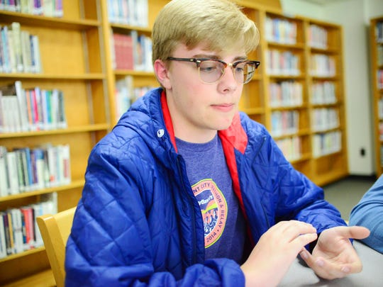 Sophomore Luke Steele said he is worried his education will suffer as Burlington High School teachers are laid off.