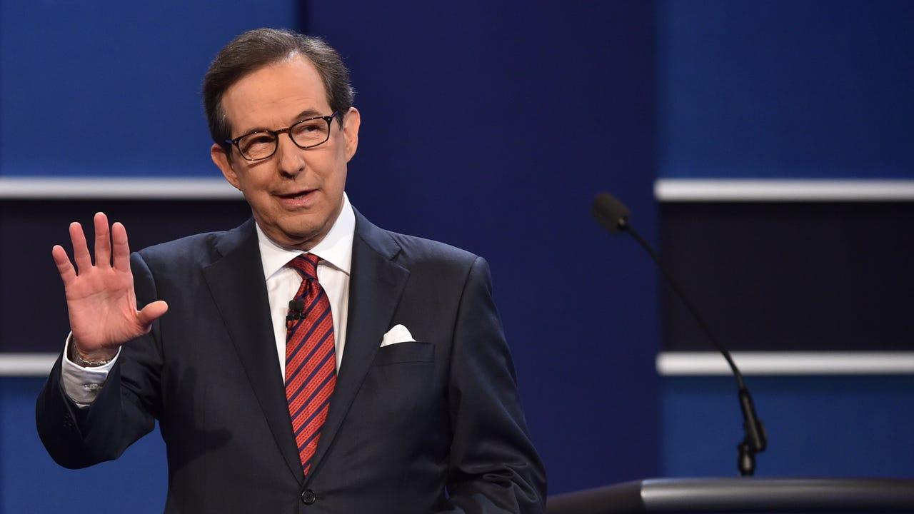 The long-suffering Chris Wallace in final presidential debate