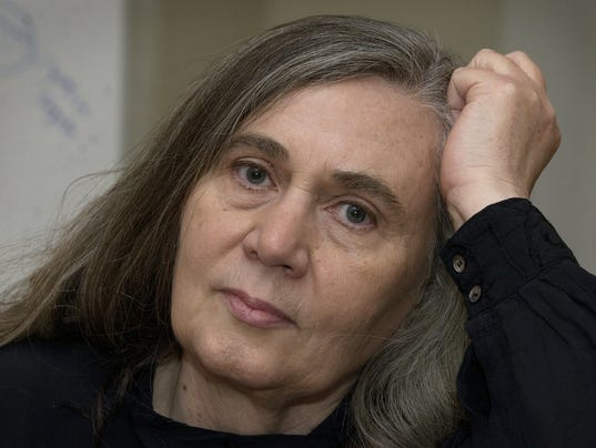 Author marilynne robinson speaks during an interview in 2004 in iowa