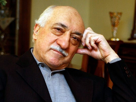 EPA FILE USA TURKEY FETHULLAH GULEN COUP WAR COUP D'ETAT USA
