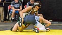 Samuel Alvarez, St. Josephs defeates Spencer Stewart,