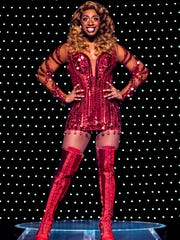 """Jos N. Banks in the national tour of """"Kinky Boots."""""""