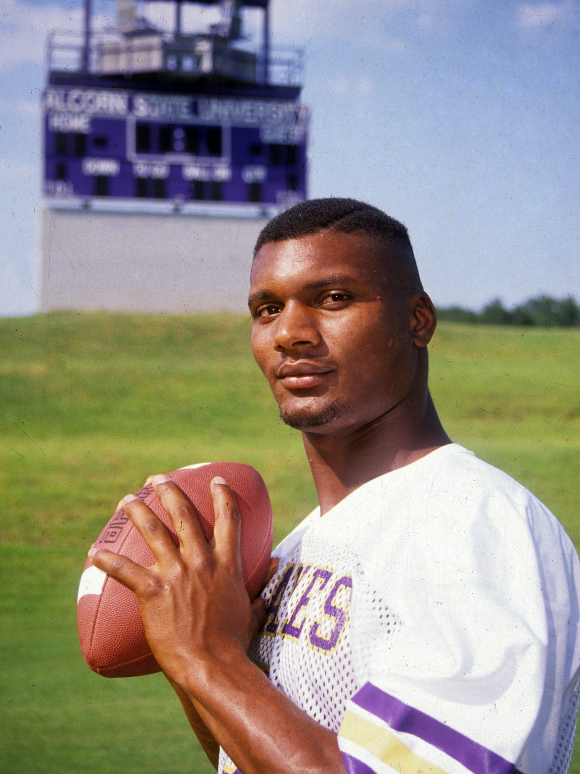 Major colleges thought Steve McNair was a defensive back, but he went to Alcorn State and became a sensation. He set records and was third in the Heisman Trophy voting.