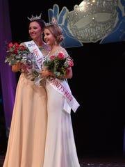 Miss Door County 2016 is Hope Copiskey, left, and 2016