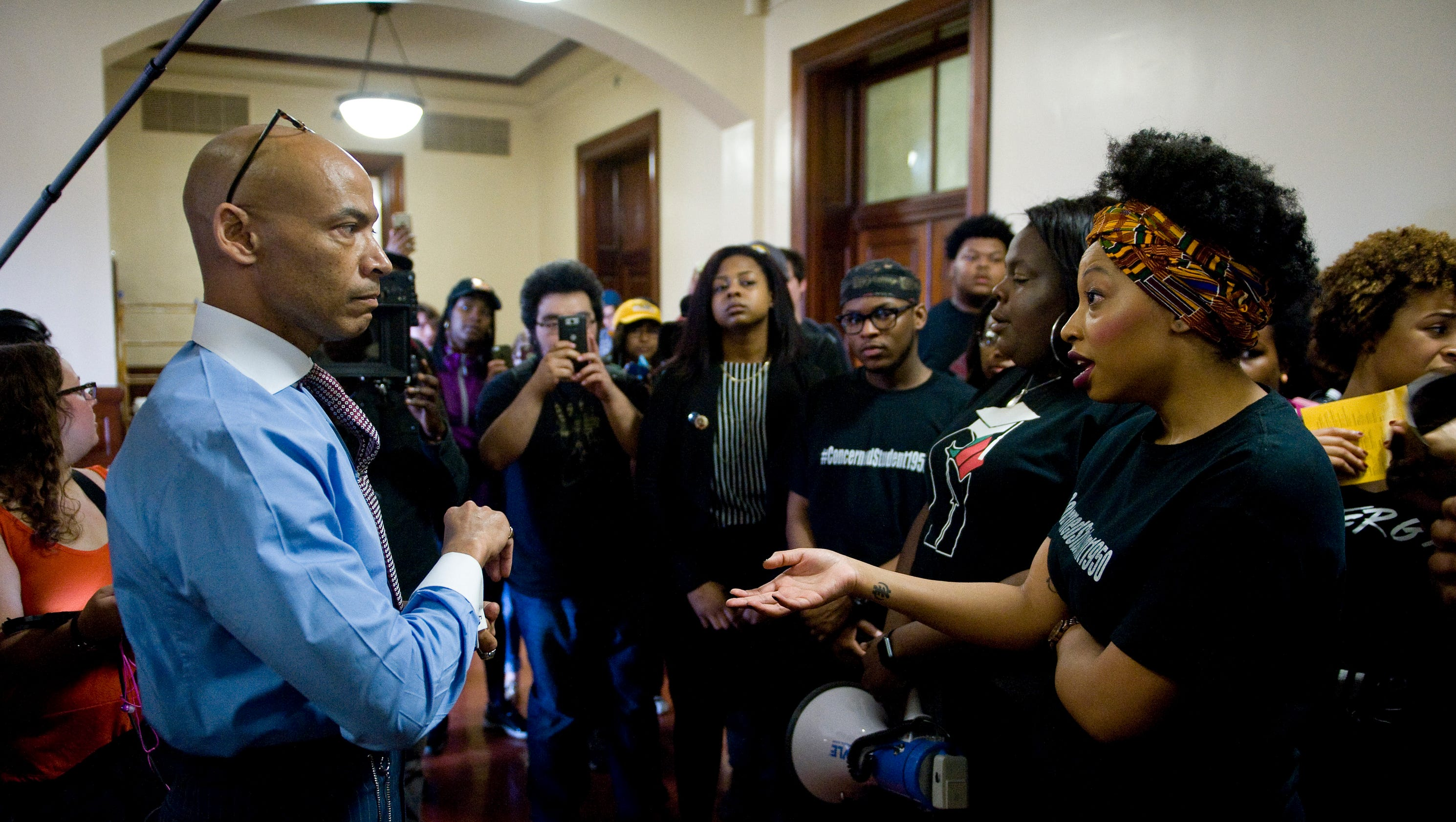 Students speak out against racism on campus