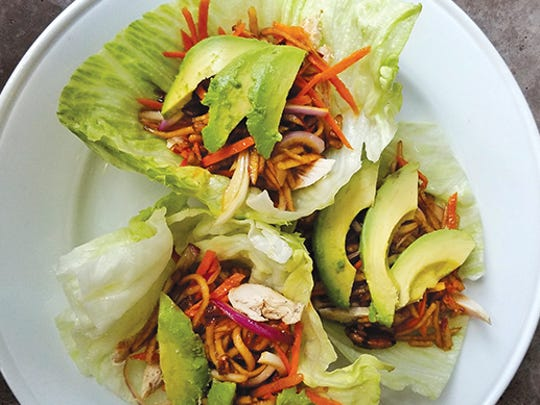 Grilled Chicken Lettuce Wraps from City Grill.
