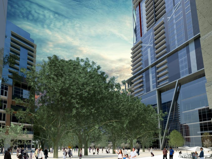 Renderings of the proposed $1.2B downtown Reno redevelopment