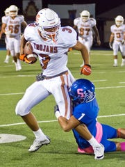 Beeville's Donnie Givens returns as one of the best receivers in South Texas.