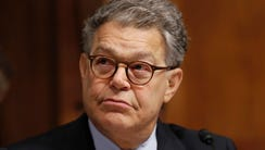In this Sept. 20, 2017 file photo, Sen. Al Franken,