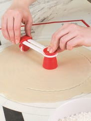 The Tovolo Pastry Cutter replaces the traditional cutter.