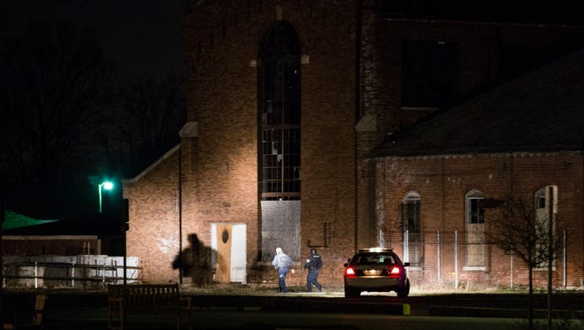 SWAT team members searched the grounds of the former Central State Hospital for a fourth teen armed with an airsoft gun on Thursday, Jan. 7, 2015.