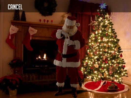 kringl app lets you capture proof of santa in your home