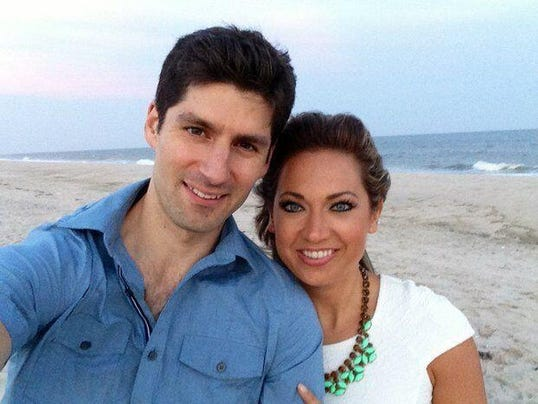 Ginger Zee and Ben