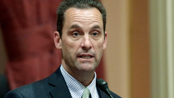 In this 2014 file photo, then-state senator Steve Knight,
