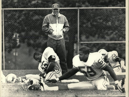 Darryl Rogers won at Michigan State, but couldn't do the same with the Lions.