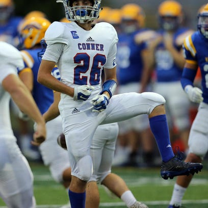 Conner at NewCath Football