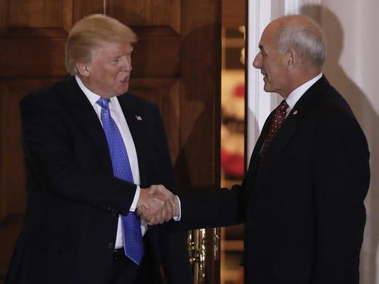 Donald Trump,John Kelly