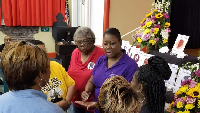 Sybrina Fulton lost her son Trayvon Martin when he shot and killed almost six years ago by George Zimmerman. She came to Fort Myers Friday to talk to some of the mothers in Lee County who have lost their own sons to gun  violence.