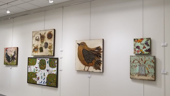 """Put a Bird on It"" is the Artport exhibit on display now through July 16 in the Tallahassee International Airport."
