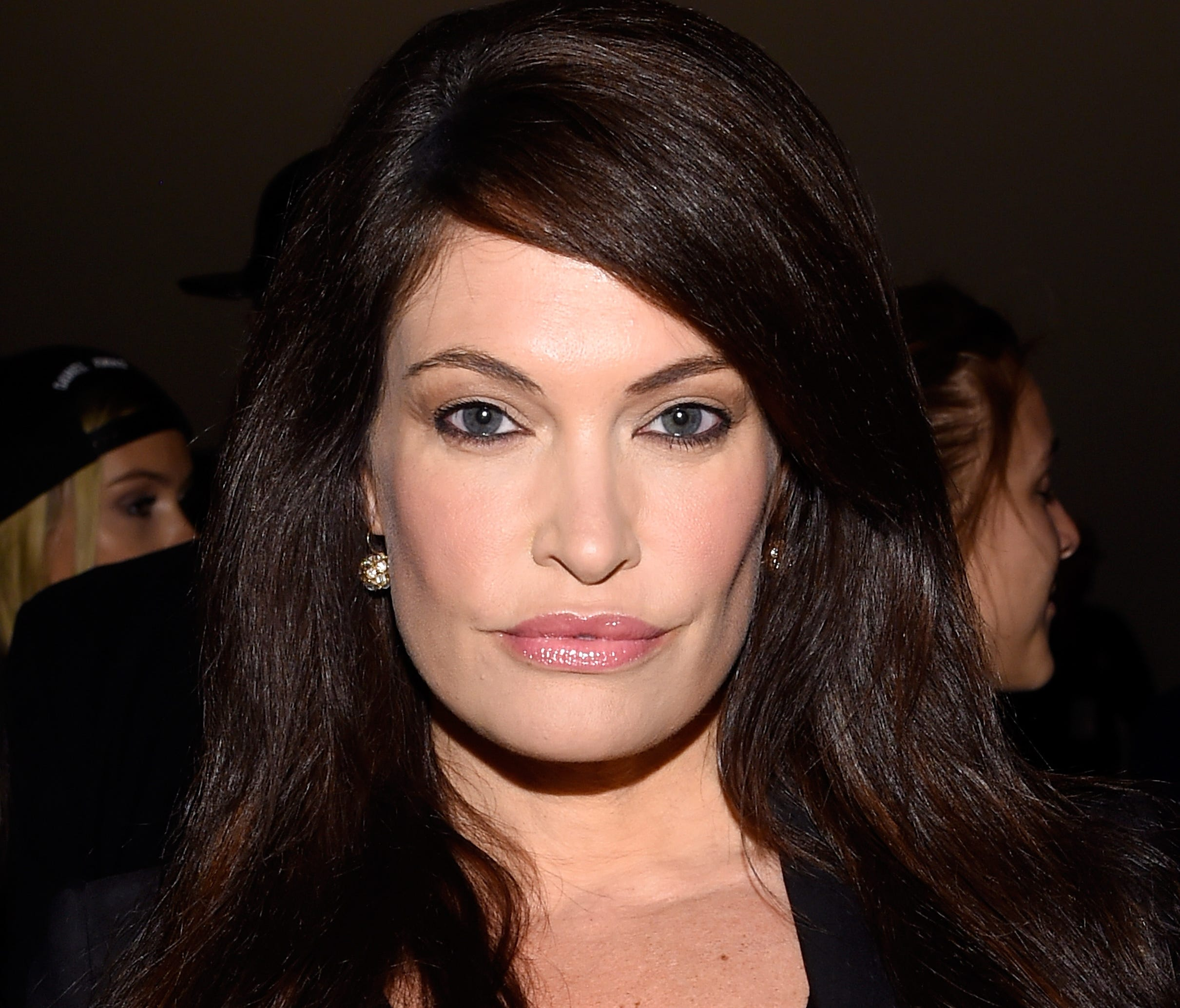 Kimberly Guilfoyle attends the Vivienne Tam fashion show during Mercedes-Benz Fashion Week Spring 2015 at The Theatre at Lincoln Center on September 7, 2014 in New York City.