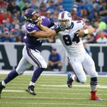 With Charles Clay sidelined, who will the Bills turn to at tight end?