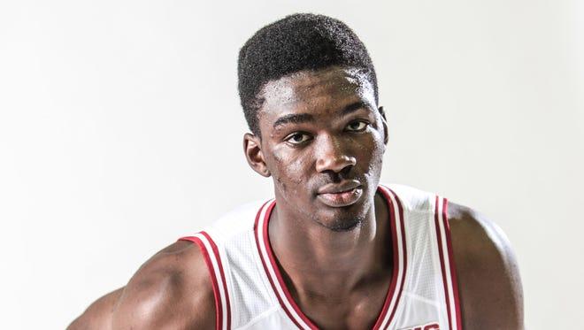 IU freshman Noah Vonleh had reportedly entered the NBA draft.