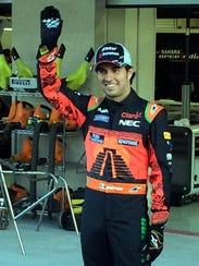 """Sergio """"Checo"""" Pérez, uno de los pilotos más aclamados"""