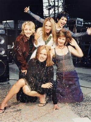 "A studio portrait of The Go-Go's around the time of their 2001 album, ""God Bless the Go-Gos."""