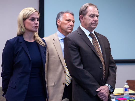 Defense attorneys Lisa Greenberg and Terry Shamsie