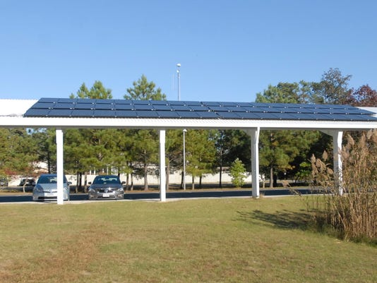 Chincoteague Refuge Solar Canopy