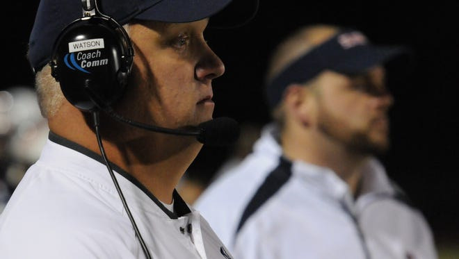 Coach David Watson and his Blackman squad face Bradley Central at home Friday in the second round of the 6A playoffs.
