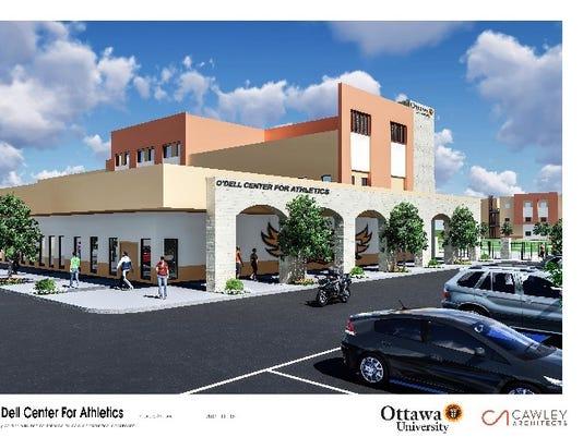 Ottawa Athletic Center Rendering