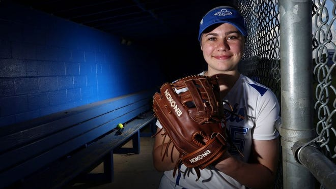 Senior Hailey Maher played all over the field for the Central Crossing softball team. She was named first-team all-OCC-Central Division last season and will play at Marietta College.