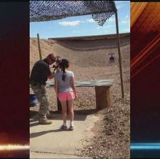 A shooting range instructor in Arizona was accidentally shot and killed by a 9-year-old girl who was learning how to shoot an Uzi, authorities said on Tuesday.