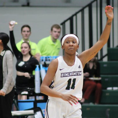 Binghamton University women's basketball: Watkins breaks scoring record in Bearcats' victory