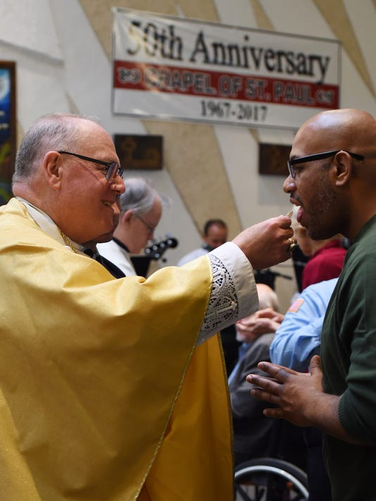 Cardinal Dolan visits Green Haven Correctional