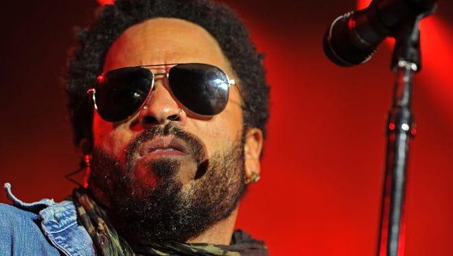 Lenny Kravitz will perform at the 2016 Hangout Music Fest in Gulf Shores, Ala.